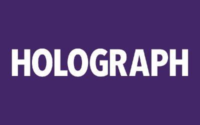 Holograph Vendex Midlands Stand 110b